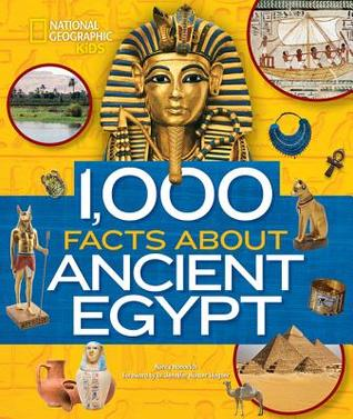 1,000 Facts About Ancient Egypt Book Cover Image