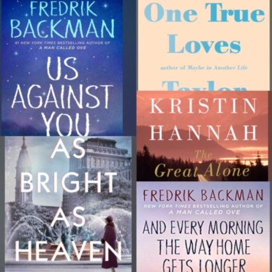 2018 5 star books