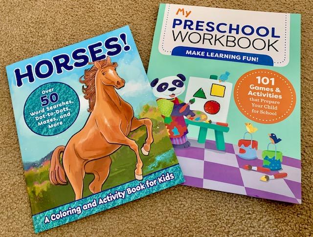 Horses and My Preschool Workbook