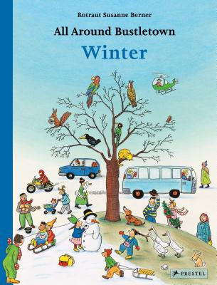 All Around Bustletown Winter book cover image