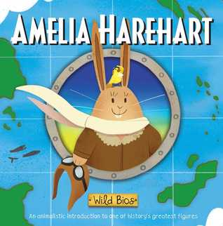 cover had a rabbit dressed as Amelia Earhart
