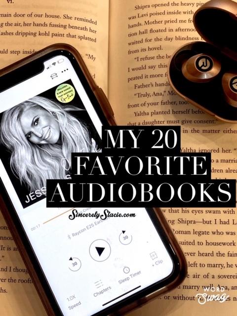 20 Favorite Audiobooks