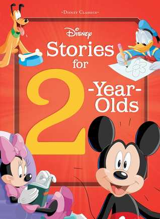 Disney Stories for 2 Year Olds Book Cover