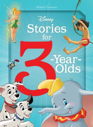 Disney Stories for 3 year olds book cover