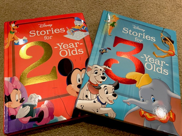 Disney Stories Book Covers