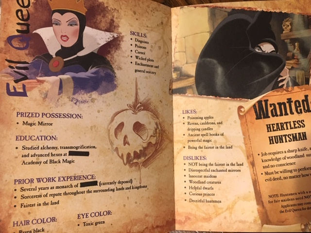Disney Villains Page