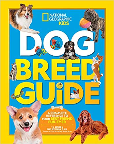 Dog Breed Guide Book Cover
