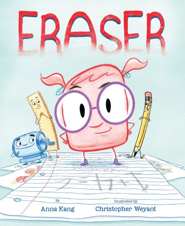 Eraser Book Cover