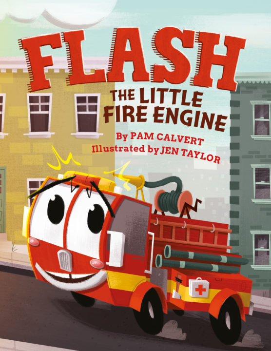 Flash the Little Fire Engine Book Cover