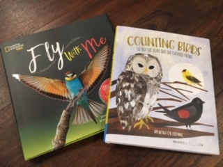Fly with Me and Counting Birds books