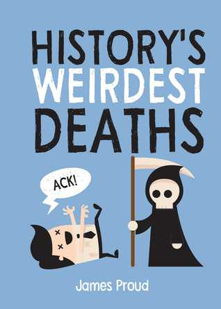 Historys Weirdest Deaths Book Cover Image