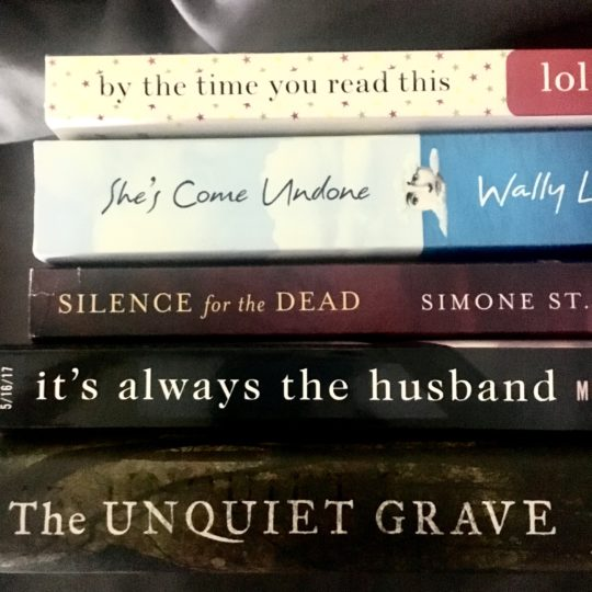 Book Spine Poetry - Mystery