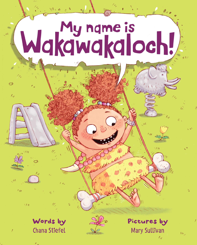 Book Cover My Name is Wakawakaloch