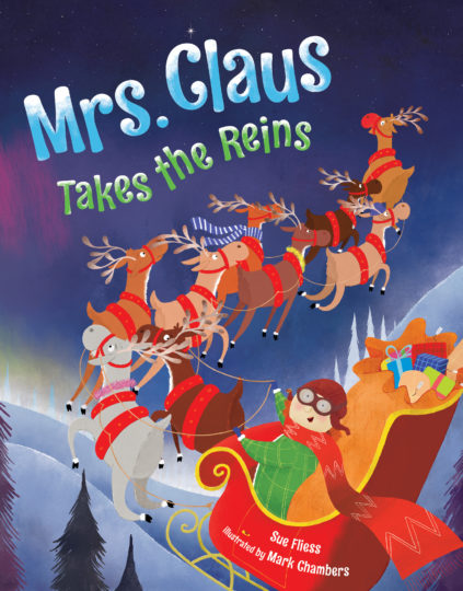 Mrs Claus Takes the Reins