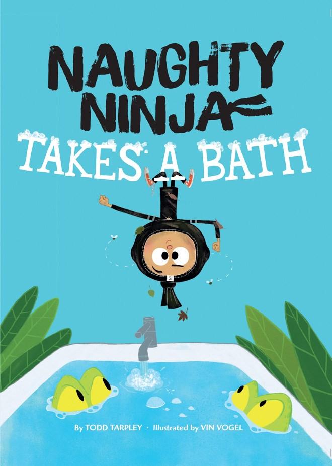 Naughy Ninja Takes a Bath