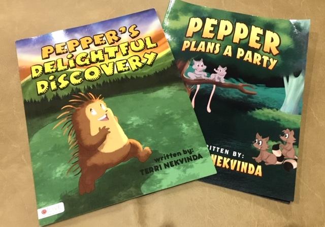 Books by Terri Nekvinda