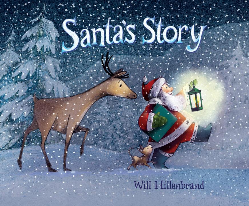 Santa's Story Book Cover