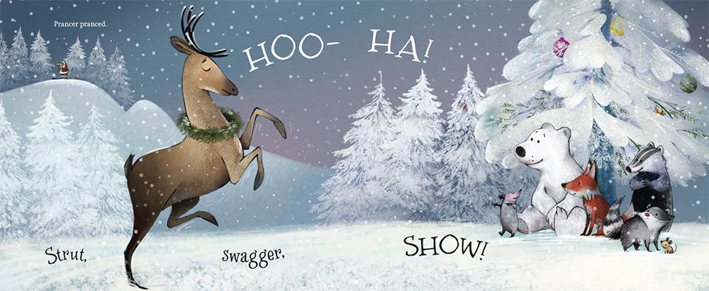Santa's Story inside page