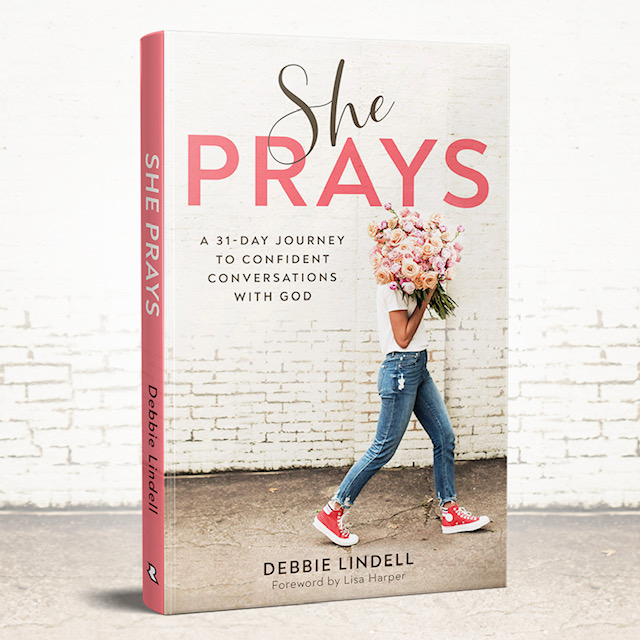 She Prays Book Cover Image