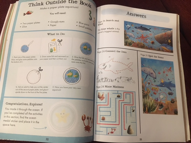 Wild Activity Book Activity Page