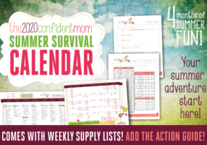 Summer Survival Calendar